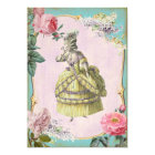 Cute Marie Antoinette (More Options) - RSVP / Card