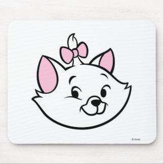 Cute Marie Cat Smiling Disney Mouse Pad