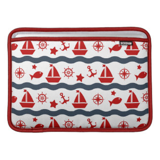 Cute Maritime Pattern MacBook Air Sleeve