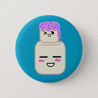 Cute marshmellow button