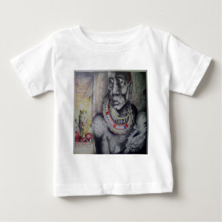 Cute Masai Hakuna Matata with Lions Infant T-Shirt
