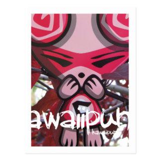 Cute Mascot Postcard