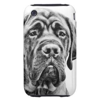 Cute Mastiff puppy dog iPhone 3 Tough Case