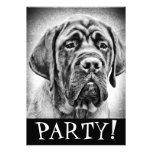 Cute Mastiff puppy dog Custom Announcement