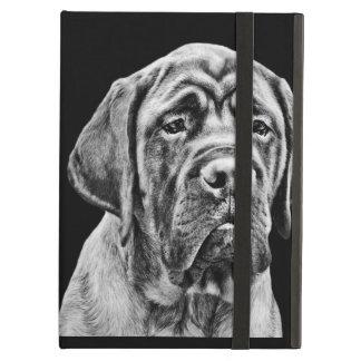 Cute Mastiff puppy dog iPad Covers