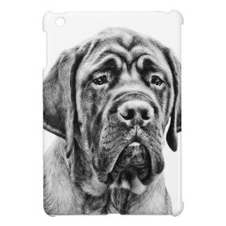 Cute Mastiff puppy dog Case For The iPad Mini