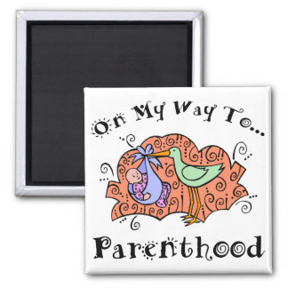 Cute Maternity 2 Inch Square Magnet