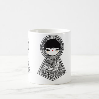 Cute Matryoshka Babushka Dolls Classic White Coffee Mug