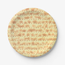 Cute Matzo Passover Design 4Sarah Paper Plate