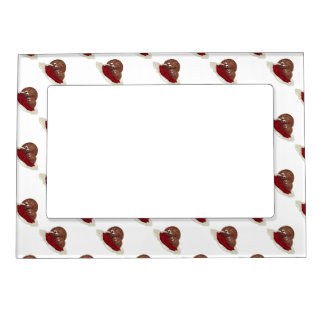 Cute Meatball Eating Spaghetti Magnetic Picture Frames