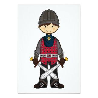 Cute Medieval Knight RSVP Card