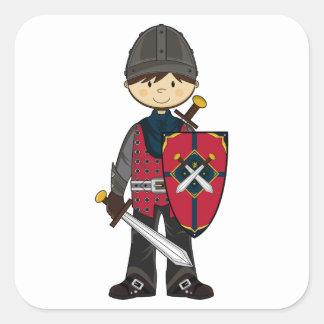 Cute Medieval Knight Sticker
