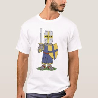 Cute Medieval Knight T-Shirt