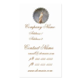 Cute Meerkat Business Cards