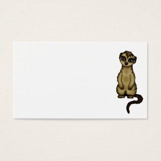 cute Meerkat businesscards Business Card