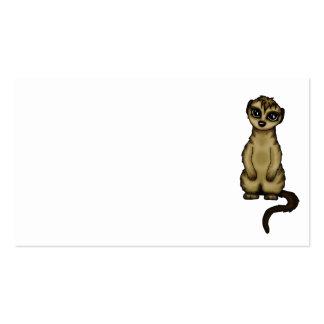 cute Meerkat businesscards Business Card Template
