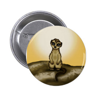 cute Meerkat Pin