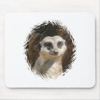 Cute Meerkat Mouse Pad