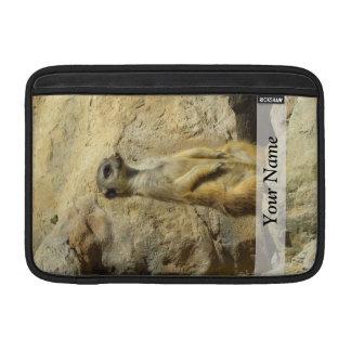 Cute meerkat photograph MacBook sleeve
