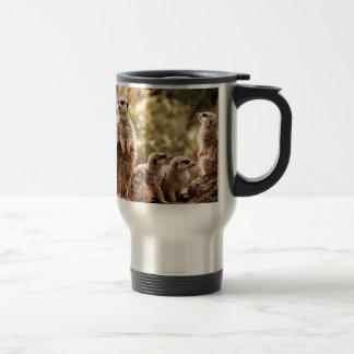 Cute Meerkats Travel Mug