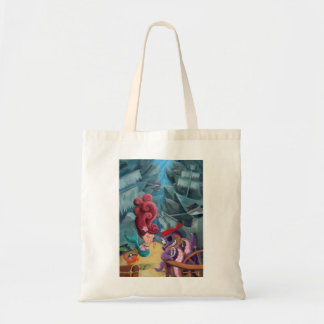 Cute Mermaid and Pirates Canvas Bags