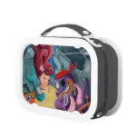 Cute Mermaid and Pirates Lunch Boxes