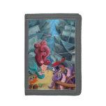 Cute Mermaid and Pirates Tri-fold Wallets