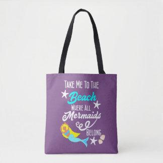 Mermaid Beach Bags & Handbags   Zazzle