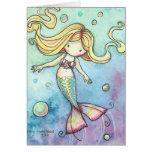 Cute Mermaid Card ~ Whimsical and Sweet