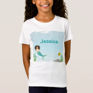 Cute Mermaid Girl's T-Shirt