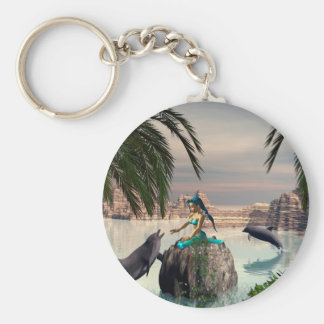 Cute Mermaid Key Chain