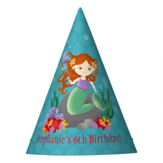 Cute Mermaid Party Hat