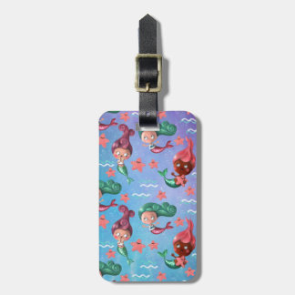 Cute Mermaid Pattern Tag For Luggage