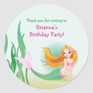 Cute Mermaid Stickers