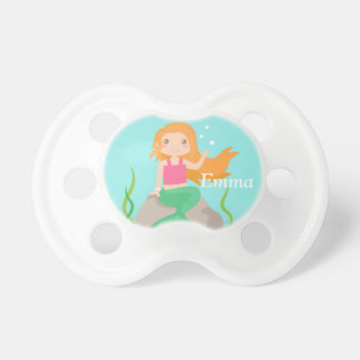 Cute Mermaid under the sea, for Girls Pacifier