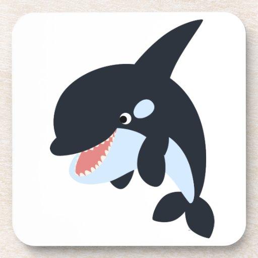 Cute Merry Cart... Orca Whale Cartoon