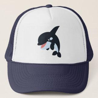 Cute Merry Cartoon Killer Whale Hat