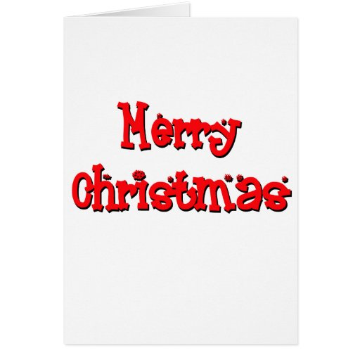 "cute, ""Merry Christmas"" Card"