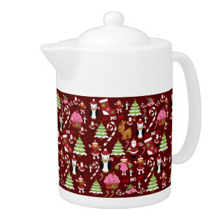 Cute Merry Christmas Xmas Holiday Pattern