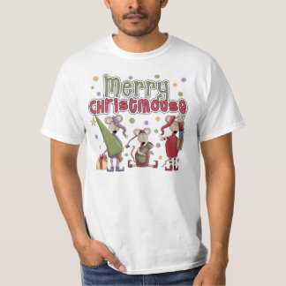 Cute Merry Christmouse T-Shirt