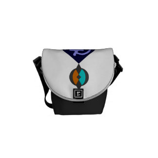 Cute messenger bags with Ghana symbol of unity