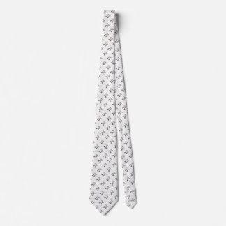 Cute metal pi character neck tie