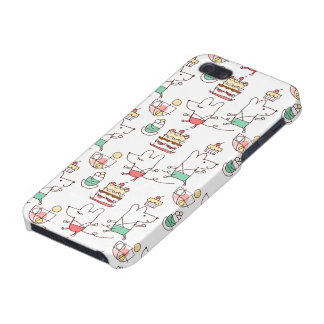 Cute Mice Bakery Chef Drawing Case For iPhone SE/5/5s