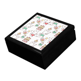 Cute Mice Bakery Chef Drawing Gift Box