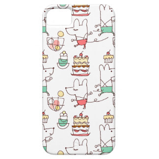 Cute Mice Bakery Chef Drawing iPhone SE/5/5s Case