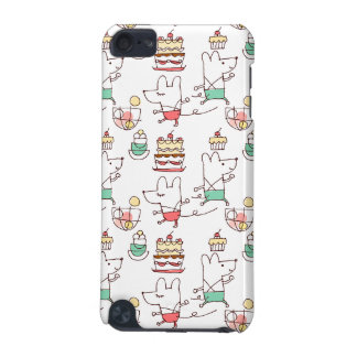 Cute Mice Bakery Chef Drawing iPod Touch (5th Generation) Cover