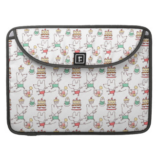 Cute Mice Bakery Chef Drawing Sleeve For MacBooks