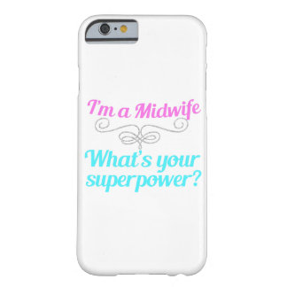 Cute Midwife Superhero Barely There iPhone 6 Case