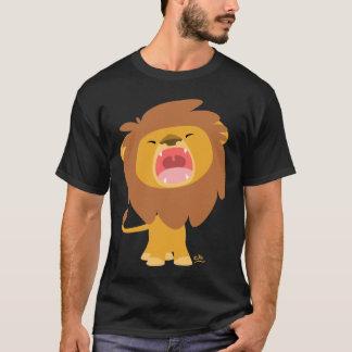 Cute Mighty  Roaring Lion Cartoon T-shirt