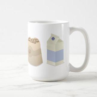 Cute Milk and Cookies Coffee Mug